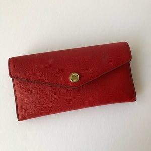 Michael Kors Saffiano Leather Red/ Pink/ White